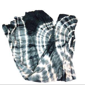 Mona B tie dye maxi skirt